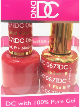 DC Gel Polish FIRE ENGINE RED - 067