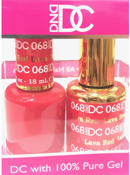 DC Gel Polish LAVA RED - 068