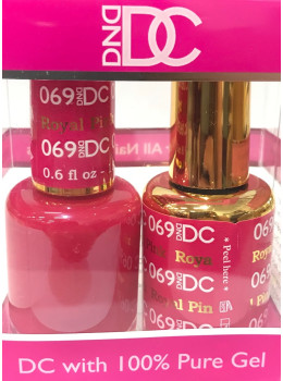 DC Gel Polish ROYAL PINK - 069