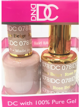 DC Gel Polish ROSE BEIGE - 078