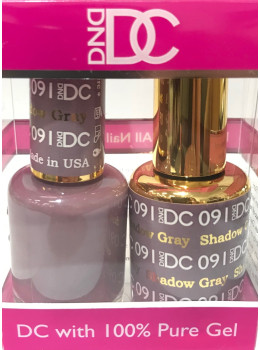 DC Gel Polish SHADOW GRAY - 091
