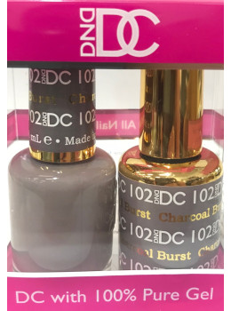 DC Gel Polish CHARCOAL BURST - 102