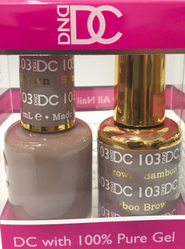 DC Gel Polish BAMBOO BROWN - 103