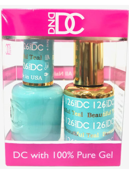 DC Gel Polish BEAUTIFUL TEAL - 126