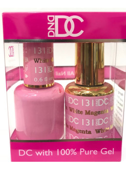 DC Gel Polish WHITE MAGENTA - 131