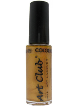 Color Club Nail Art Stripers Polish Bronze