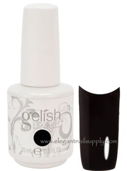 Gelish Soak Off Gel Polish Black Shadow