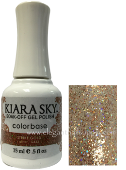 Kiara Sky Gel Polish STRIKE GOLD - G433