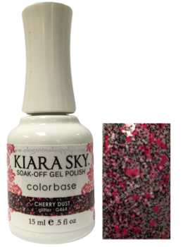 Kiara Sky Gel Polish CHERRY DUST