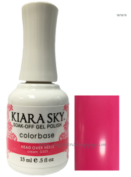 Kiara Sky Gel Polish HEAD OVER HEELS