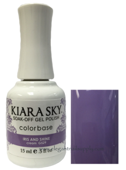 Kiara Sky Gel Polish IRIS AND SHINE
