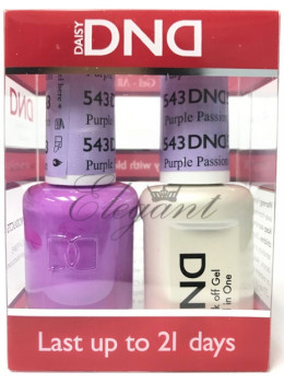 DND Gel Polish PURPLE PASSION 543