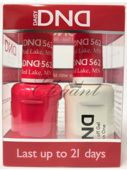 DND Gel Polish RED LAKE 562