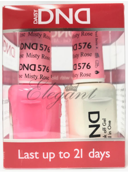 DND Gel Polish MISTY ROSE 576