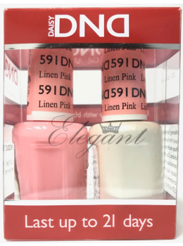 DND Gel Polish LINEN PINK 591