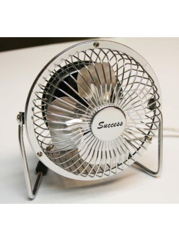 Success Chrome Metal Table Fan