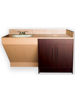 Contemporary Single Sink Cabinet
