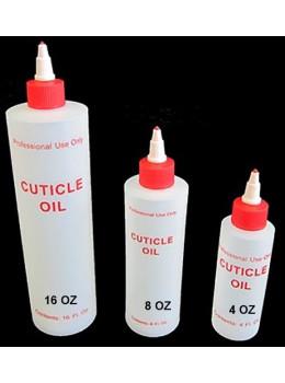 Cuticle Oil Plastic Bottle