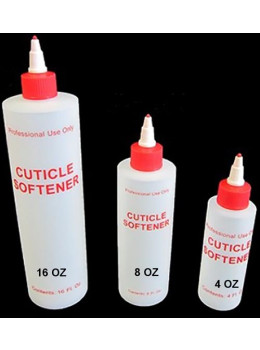Cuticle Softener Plastic Bottle