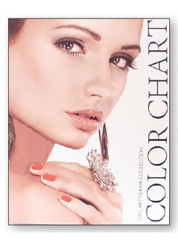 Nail Polish Color Chart Box DL-C376