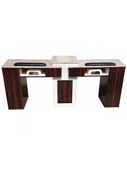 Double Luxe II Manicure Table
