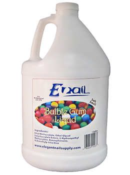 E-Nail Bubble Gum Liquid ( LOW SMELL )