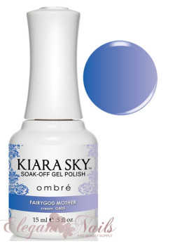 Kiara Sky Ombre Color Changing Gel Polish  FIARY GODMOTHER - G805