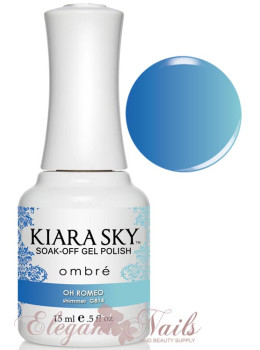 Kiara Sky Ombre Color Changing Gel Polish OH ROMEO - G814