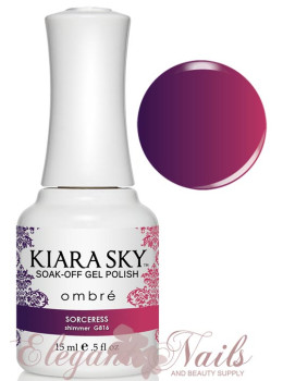 Kiara Sky Ombre Color Changing Gel Polish SORCERESS -   G816