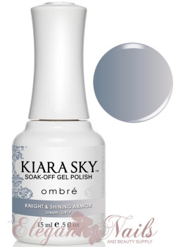 Kiara Sky Ombre Color Changing Gel Polish KNIGHT & SHINING ARMOR - G819