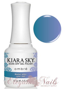 Kiara Sky Ombre Color Changing Gel Polish MAGIC SPELL -   G822