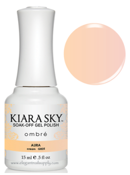 Kiara Sky Ombre Color Changing Gel Polish AURA - G825