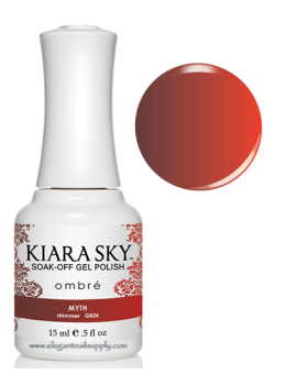 Kiara Sky Ombre Color Changing Gel Polish MYTH - G826
