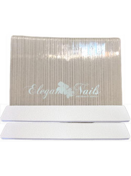 Jumbo White Nail File - Pack/50 PCS