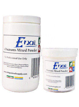 E-Nail 4 Season Mixed Acrylic Powder-SLOW SET
