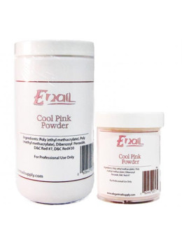 E-Nail Cool Pink Acrylic Powder