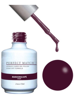 LeChat Perfect Match Gel Polish DUO SETS - Maroonscape PMS132