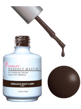 LeChat Perfect Match Gel Polish DUO SETS  - Fabulous Boot Camp PMS66