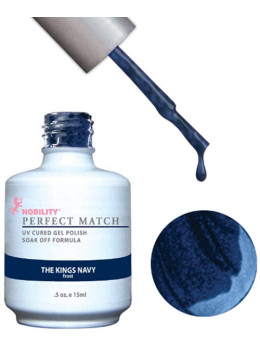 LeChat Perfect Match Gel Polish DUO SETS  - The King's Navy PMS74