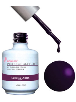 LeChat Perfect Match Gel Polish DUO SETS  - Lord & Ladies PMS78