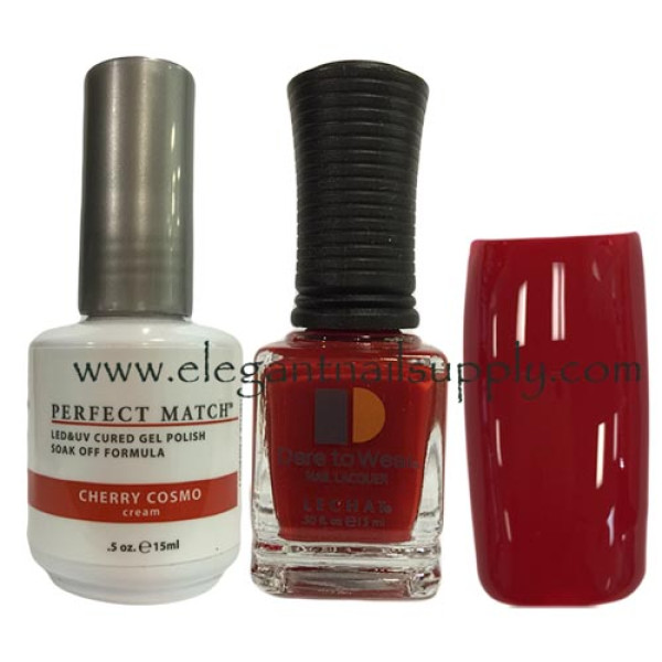 LeChat Perfect Match Gel Polish DUO SETS - Cherry Cosmo PMS01
