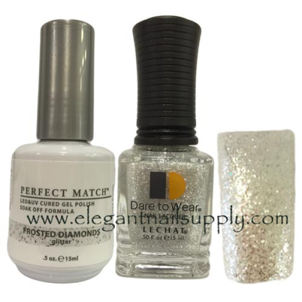 LeChat Perfect Match Gel Polish DUO SETS - Frosted Diamonds PMS163 ...