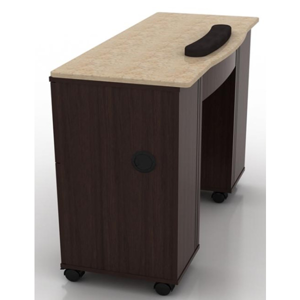 Berkeley nail table for Long manicure table