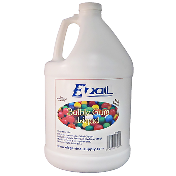 E-Nail Bubble Gum Liquid ( LOW SMELL ) - Acrylic Liquids - Acrylic ...