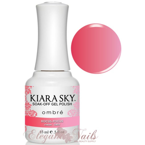 Kiara Sky Ombre Color Changing Gel Polish HOCUS-POCUS - G803
